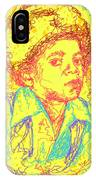 Michael Jackson Abstraction IPhone Case