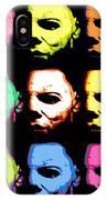 Michael Myers Mask Pop Art IPhone Case