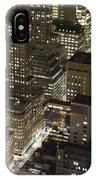 Midtown Manhattan Illuminated At Night IPhone Case