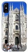 Milan Duomo Cathedral IPhone Case