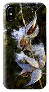 Milkweed Breeze IPhone Case