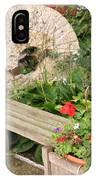 Milling Stone Flower Garden IPhone Case