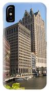 Milwaukee River And Skywalk IPhone Case