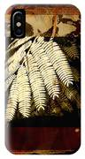 Mimosa Leaf Collage IPhone Case