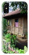 Minahasa Traditional Home 1 IPhone Case
