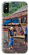 Minahasa Traditional Home 3 IPhone Case