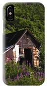 Miners Cabin IPhone Case