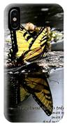 Missing You - Butterfly IPhone Case