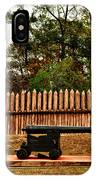Mission San Luis Palisades And Cannon IPhone Case