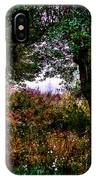 Mist Beyond The Apple Trees IPhone Case