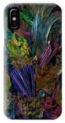 Mixed Media In Blues IPhone Case