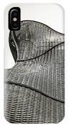 Modern Basket Weaving In London IPhone Case