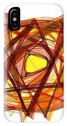 Modern Drawing 102 IPhone Case