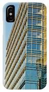Modern Office Building Windows IPhone Case