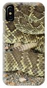 Mohave Diamondback Rattlesnake Coiled IPhone Case