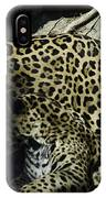 Mom And Baby Cheetah IPhone Case