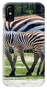 Mom N Baby Stripes IPhone Case