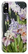 Mom's Night Iris IPhone Case