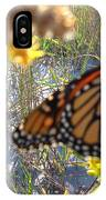 Monarch On The Dunes  IPhone Case