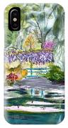 Monet's Jardin De L'eau IPhone Case