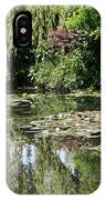 Monets Lilypond - Giverny IPhone Case