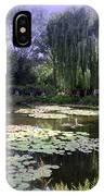 Monet's Water Garden IPhone Case