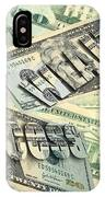 Money Wealth And Success IPhone Case