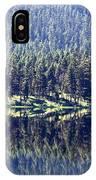 Montana Lake Reflection IPhone Case