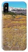Montana100 0885  IPhone Case
