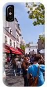 Montmartre Artist Colony IPhone Case