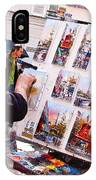 Montmartre Street Artists IPhone Case