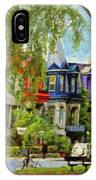 Montreal  Architecture 2 IPhone Case