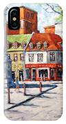 Montreal Street Urban Scene By Prankearts IPhone Case