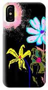 Moon Garden IPhone Case