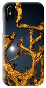 Moon Light And Tree IPhone Case