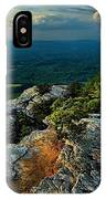 Moore's Knob Sunset IPhone Case