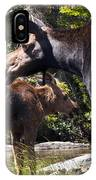 Moose Brunch IPhone Case