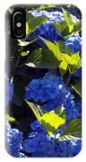 Mophead Hydrangeas Dry Brushed IPhone Case