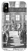Moravians, 1757 IPhone Case