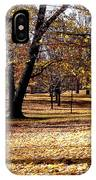 More Fall Trees IPhone Case