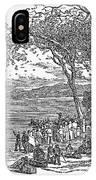 Mormon Flight, 1833 IPhone Case