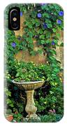 Morning Glory Garden In Provence IPhone Case