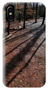Morning Shadows IPhone Case