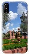 Moroccan Garden I IPhone Case
