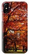 Morton Arboretum In Colorful Fall IPhone Case