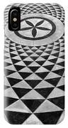 Mosaic Black And White Floor IPhone Case