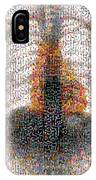 Mosaic Of Chest X-ray IPhone Case