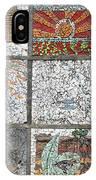 Mosaics Street At Birzeit IPhone Case