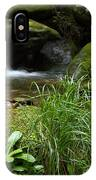 Moss And Water And Ambience IPhone Case