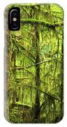 Moss-covered Trees IPhone Case